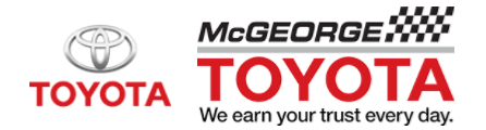 McGeorge Toyota Coupon Codes